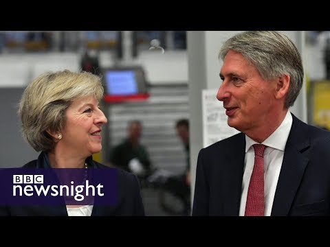 BBC Newsnight's 2017 Budget Preview with Nick Watt