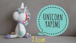 Amigurumi Knitting Amigurumi Unicorn Construction – Body ... | 180x320