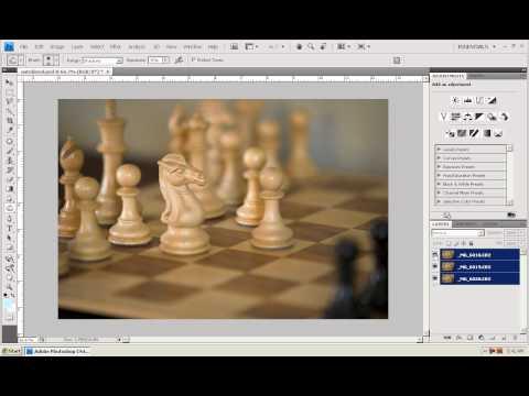 Photoshop CS4 - Phan 1 - Bai 23 - Auto Align & Blend