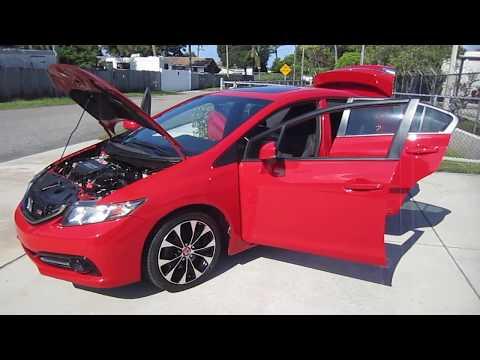 2013 Honda Civic Si Sedan i-VTEC DOHC Meticulous Motors Inc Florida For Sale