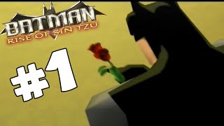 Batman Rise of Sin tzu PART 1 Crime Alley (Co-op)