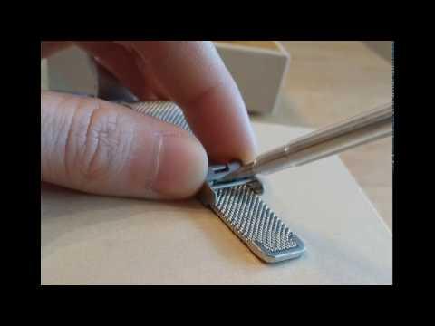 Adjust Metal D.MRX mii band 2 watch strap