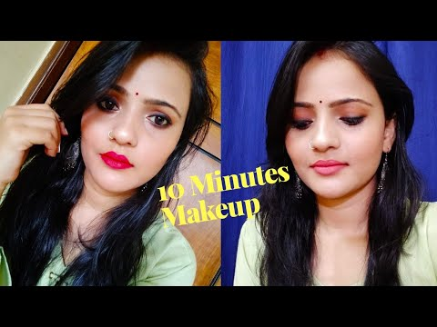 Wedding Guest Makeup Look l Get Ready In 10 Minutes l Tiny Makeup Update