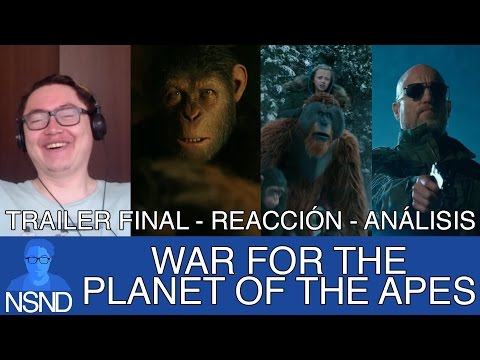 WAR FOR THE PLANET OF THE APES | Trailer Final | REACCIÓN | ANÁLISIS