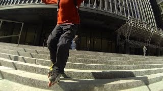 Inline Skater Racing Bikes, Rolling Stairs and Rambling