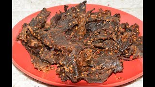 Spicy Dr  Pepper Beef Jerky -  How To Make Homemade Jerky