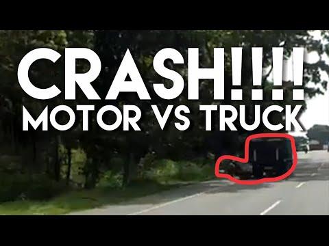 Kecelakaan  MOTOR vs TRUCK di Jalan Boyolali - Salatiga #MotovlogIndonesia