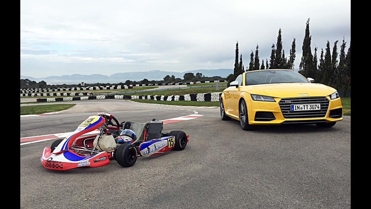 Audi TTS Roadster vs. Rennkart - GRIP - Folge 309 - RTL2
