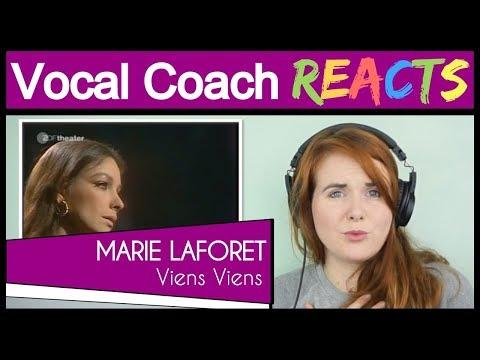Vocal Coach Reacts To Marie Laforêt - Viens Viens (Live)