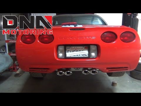 DNA Motoring 97-04 Chevy Corvette C5 3rd Brake Light Installation