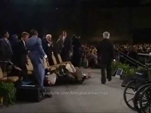 Benny Hinn in the Presence of the Holy Spirit