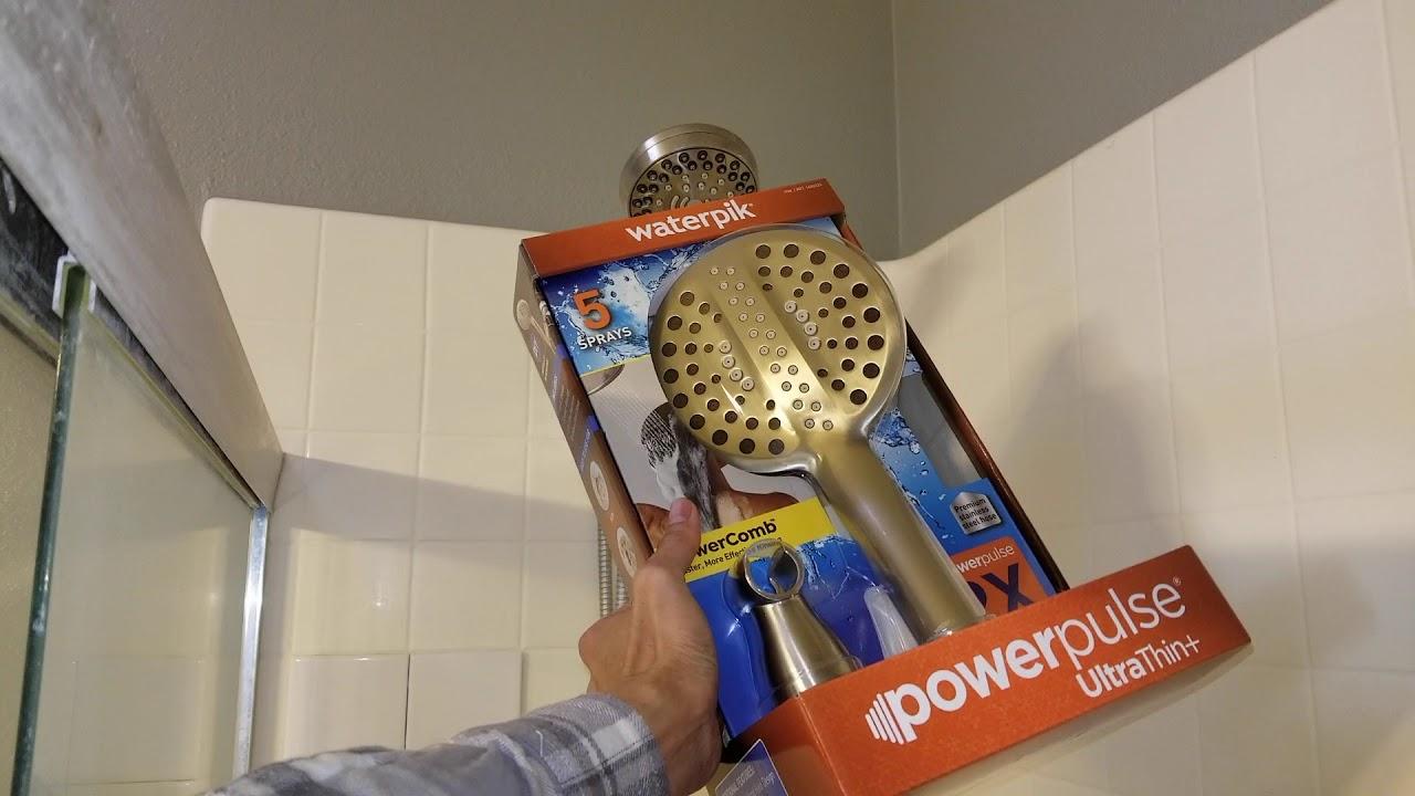 Waterpik Power Pulse Ultra Thin Shower Head