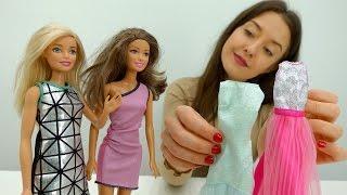 Кастинг в модельном агентстве для Барби и Терезы. Игры для девочек