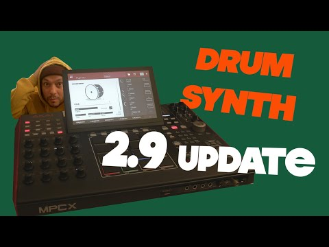 Akai Mpc X Live One 2.9 Update DRUM SYNTH