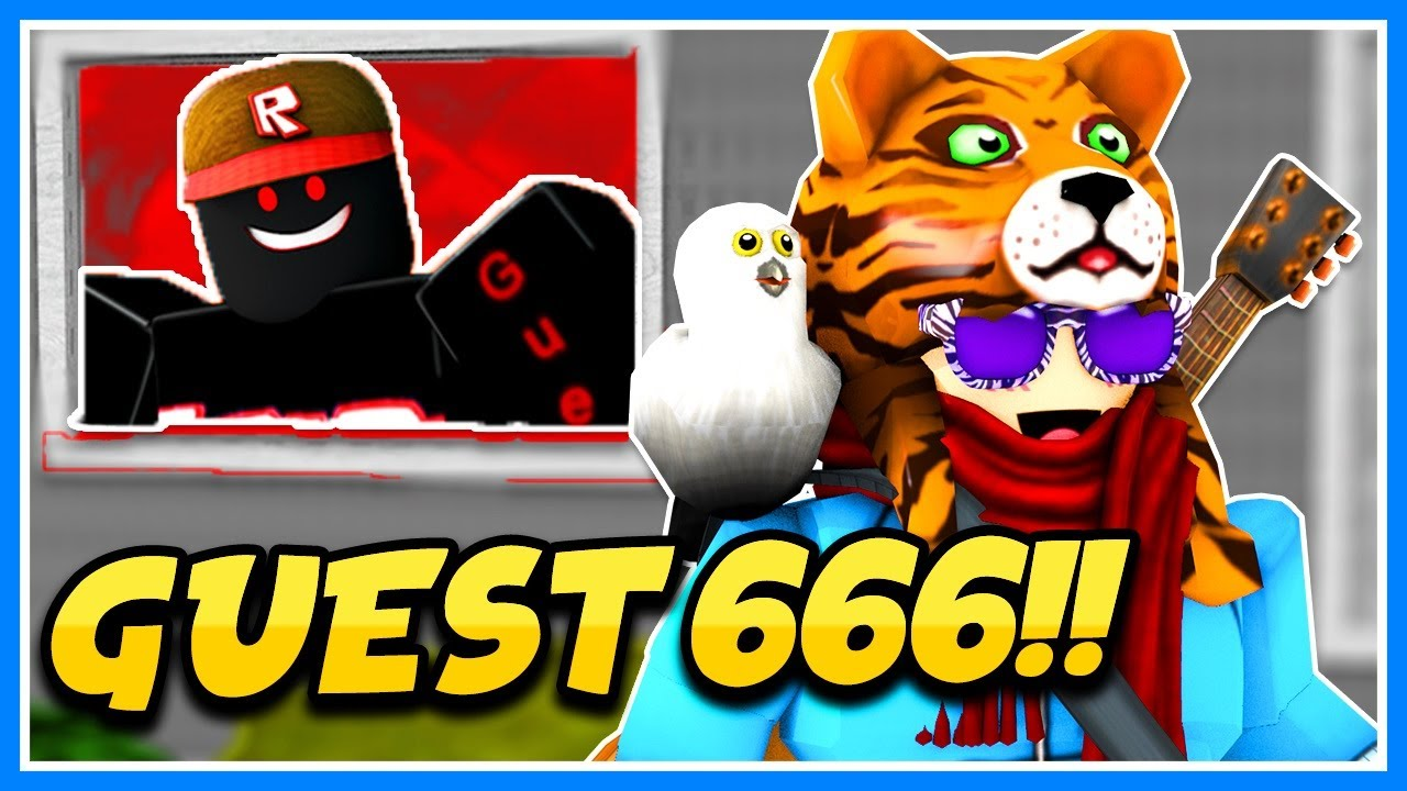 Real Or Fake Roblox Secret Guest 666 Game Roblox