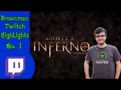 Brownman Twitch Highlight | Dante's Inferno | Tip War