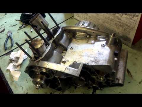 Stripping my Suzuki T20 Race bike engine