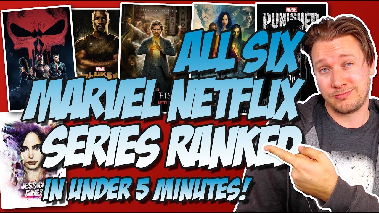 All Six Marvel Netflix Series Ranked From Worst To Best W The Punisher 2017 Review