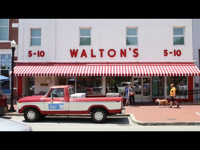Coca-Cola Takes You Inside the Walmart Museum