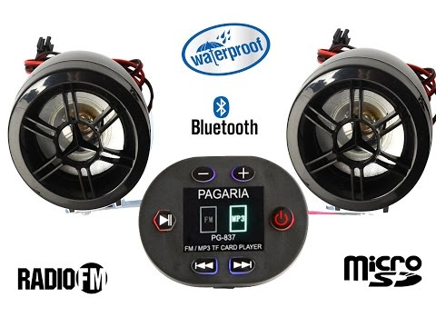 Pagaria Bike Mp3 Bluetooth Music System review and road test