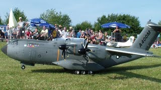 AIRBUS A400M MILITARY TRANSPORTER RC SCALE MODEL AIRPLANE