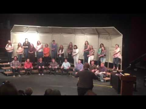 "Johnsburg High School Varsity Choir ""Janger"" 5/11/17"