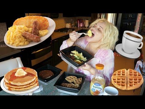HAVE BREAKFAST WITH ME (MUKBANG) EATING SHOW | WATCH ME EAT