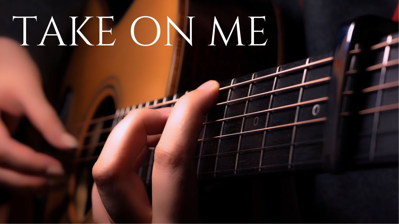 Take On Me - A-HA / Last of Us 2 / Fingerstyle Acoustic Guitar Solo