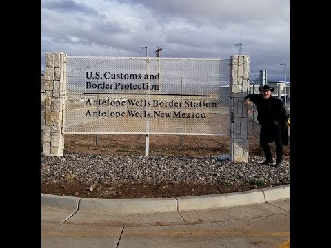 Dr. Clarkson at Antelope Wells, NM