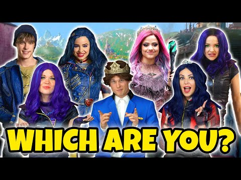 WHICH DESCENDANTS 3 CHARACTER ARE YOU? We Take the Descendants Character Quiz Totally TV