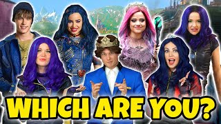 WHICH DESCENDANTS 3 CHARACTER ARE YOU? (We Take the Descendants Character Quiz) Totally TV