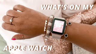 what's on my apple watch + hacks you need to know!