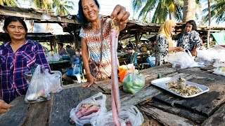 Thai Food Tour of Sichon (สิชล) - CURRY EEL and UNTOUCHED Coastal Beach Village in Thailand!
