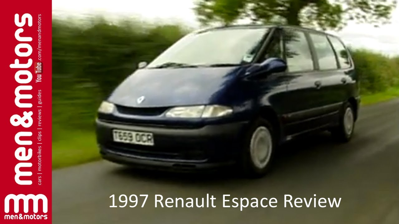 1997 renault espace review youtube. Black Bedroom Furniture Sets. Home Design Ideas
