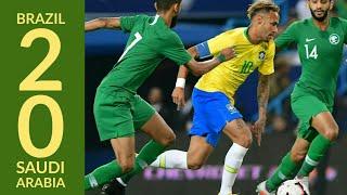 Brazil Vs Saudi Arabia (2-0) All Goals and Highlights | Friendly