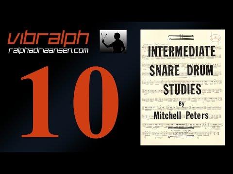Vibralph - Intermediate snare drum studies Study #6
