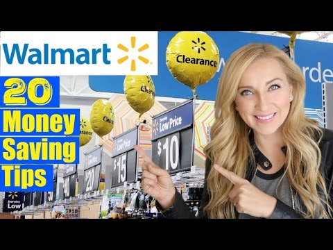 20 Walmart Money-Saving Shopping Tips & Hacks You Need to Know!