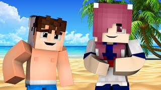 Yandere High School - BEACH PARTY! (Minecraft Roleplay) #46