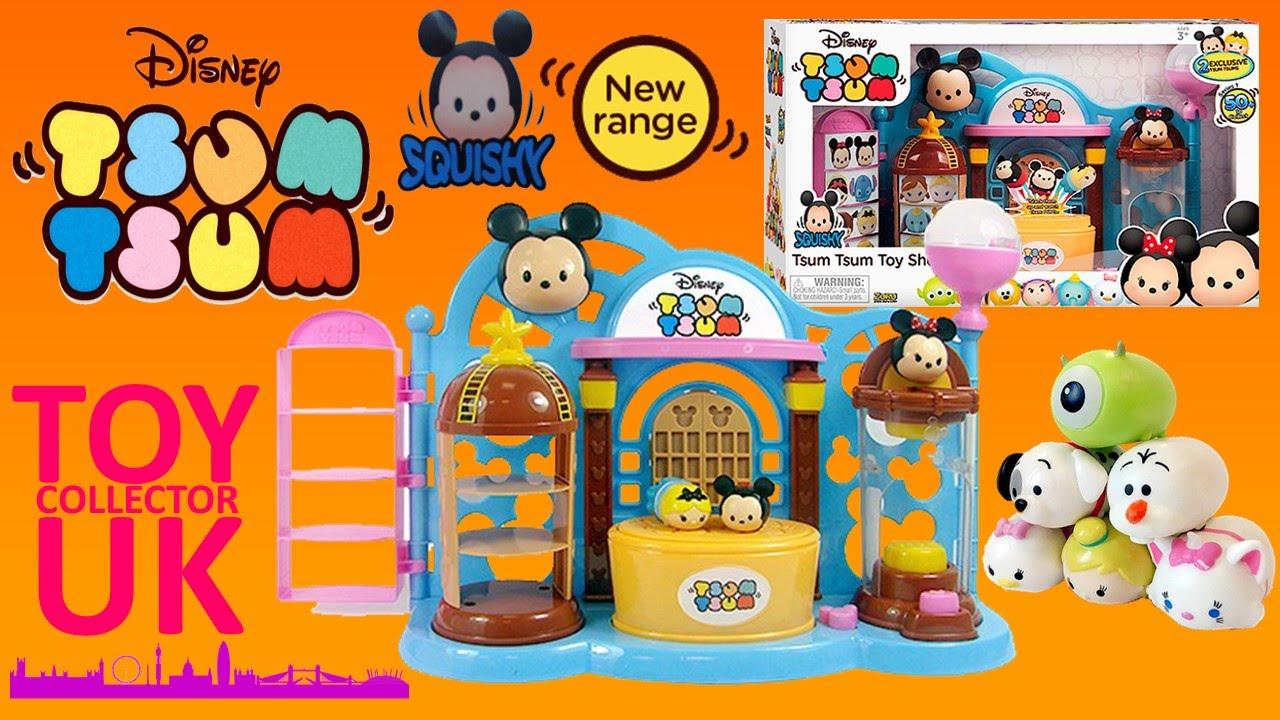 Disney Tsum Tsum Para Colorear Buzz Lightyear: Disney Tsum Tsum Squishy Figure Toy Shop Playset
