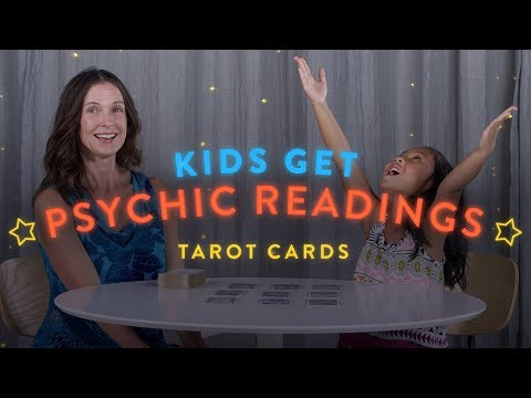 Kids Get Psychic Readings: Tarot Cards
