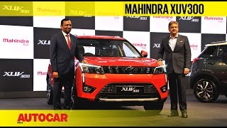 Mahindra XUV300 Launch And Price Details   Feature   Autocar India