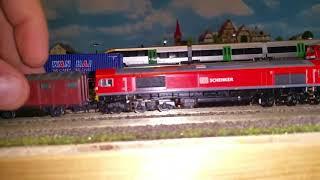 Spur N Modellbahn meine neue Class 66 von DB Schenker UK Graham