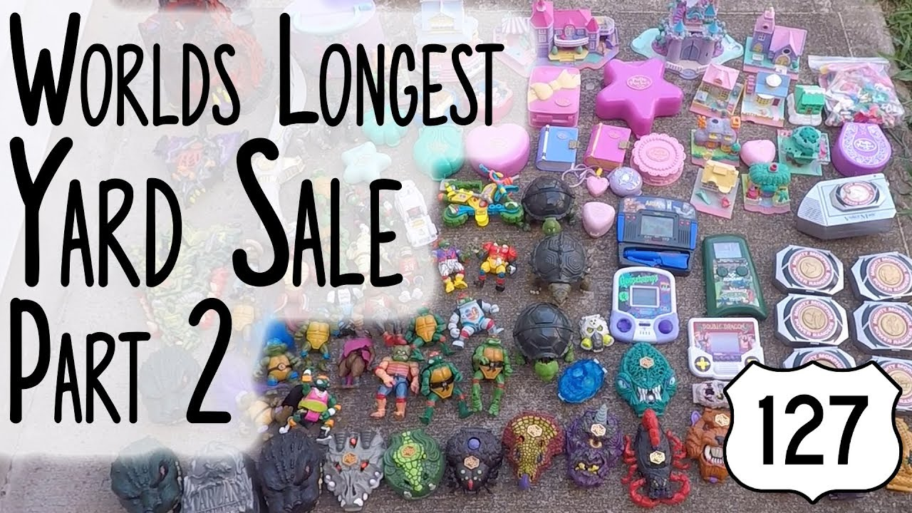 Route 127 Worlds Longest Yard Sale 2019 - Part 2 - The Haul