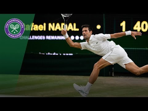 Novak Djokovic vs Rafael Nadal SF Highlights | Wimbledon 2018
