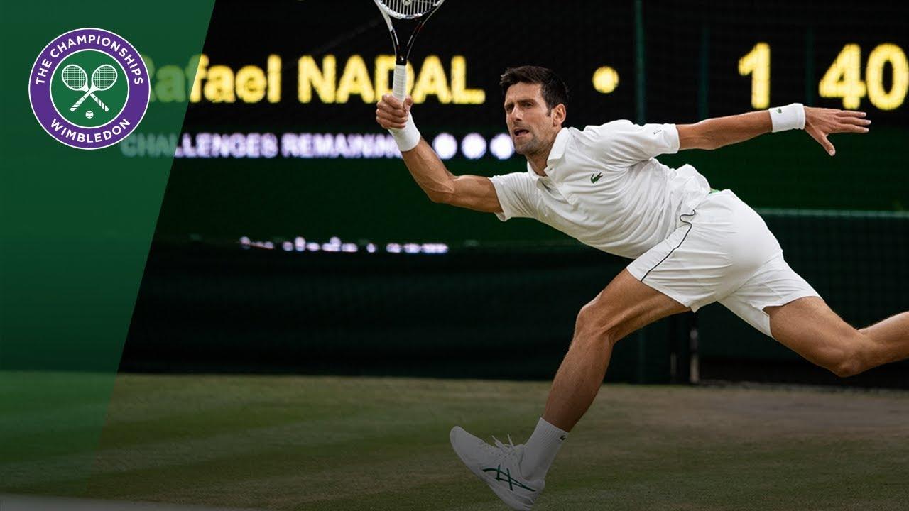 Novak Djokovic Vs Rafael Nadal Sf Highlights Wimbledon 2018 Youtube