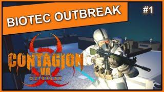 Contagion VR - BIOTEC OUTBREAK - Level 1-3 [Part I - 4k EN]