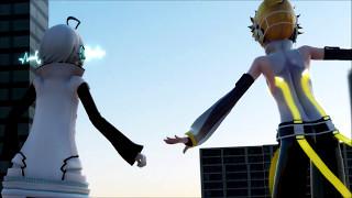 『MMD』Click Crack「Utatane Piko & Kagamine Len」