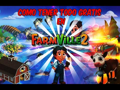 Como Tener Todo Gratis En FarmVille2 (2017)