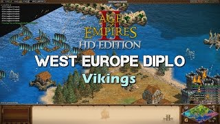 'Who Accepts Refugees?' - AoE2 West Europe Diplomacy - Vikings
