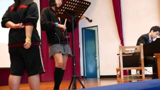 """Wings of Piano"" V.K Play with Student 2015"
